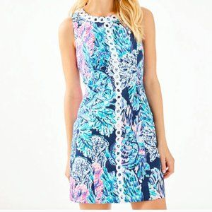 LILLY PULITZER MILA DRESS High Tide Navy Party